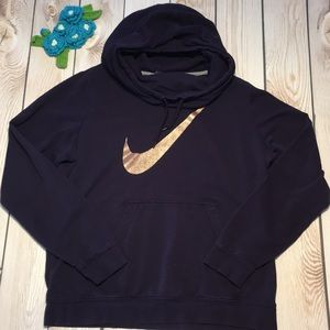 Nike women's cowl neck pullover hoodie